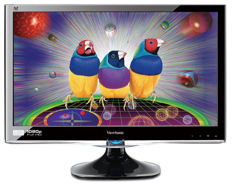 "Viewsonic va2407h 24"" 1080p home and office monitor."